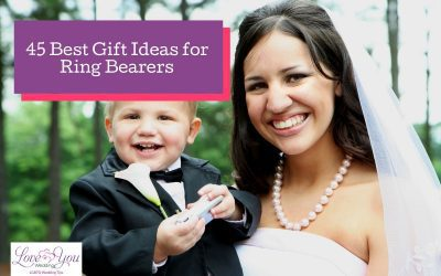 45 Best Gift Ideas for Ring Bearers in 2021