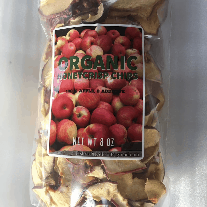 Organic Honeycrisp Apple Chips  Direct from Family Orchard  | Etsy