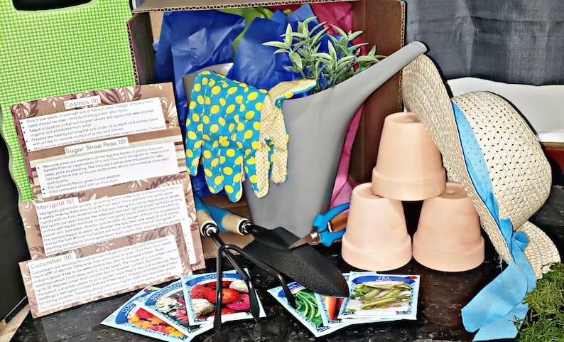 Gardening Gift Box Gardening Starter Kit Gardening Gift   Etsy