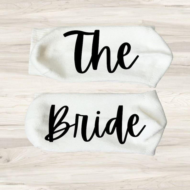 Bridesmaid Socks Proposal Socks Wedding Party Socks Bridal | Etsy