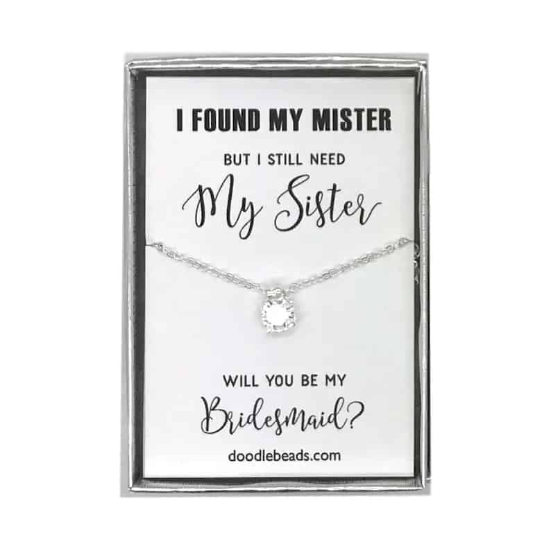 I still need my sister necklace