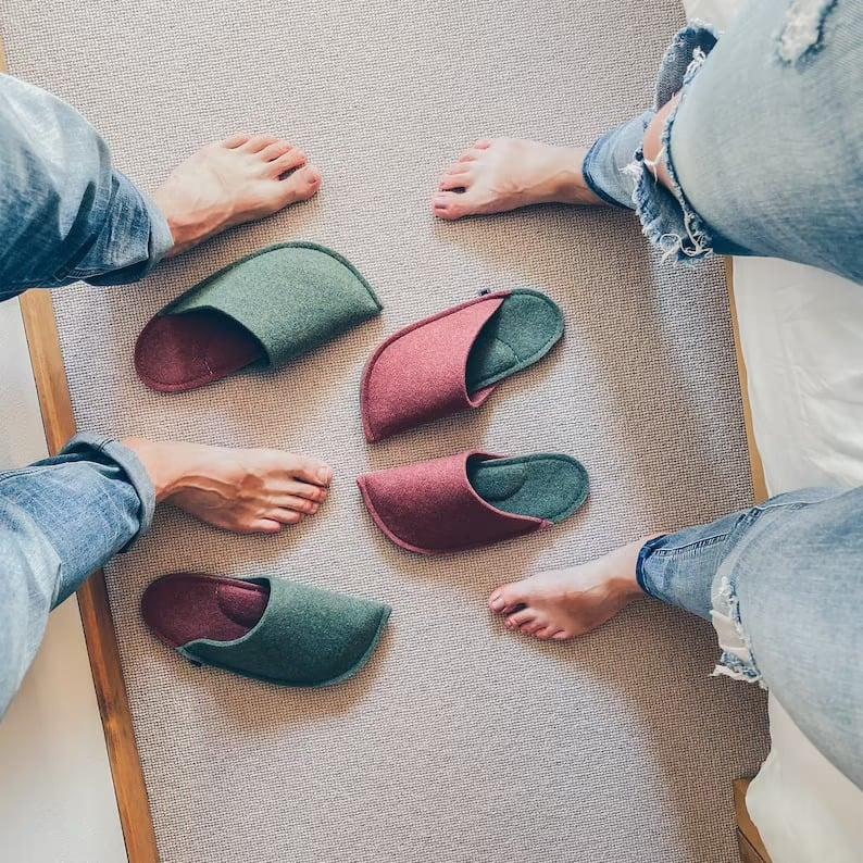 couples slipper