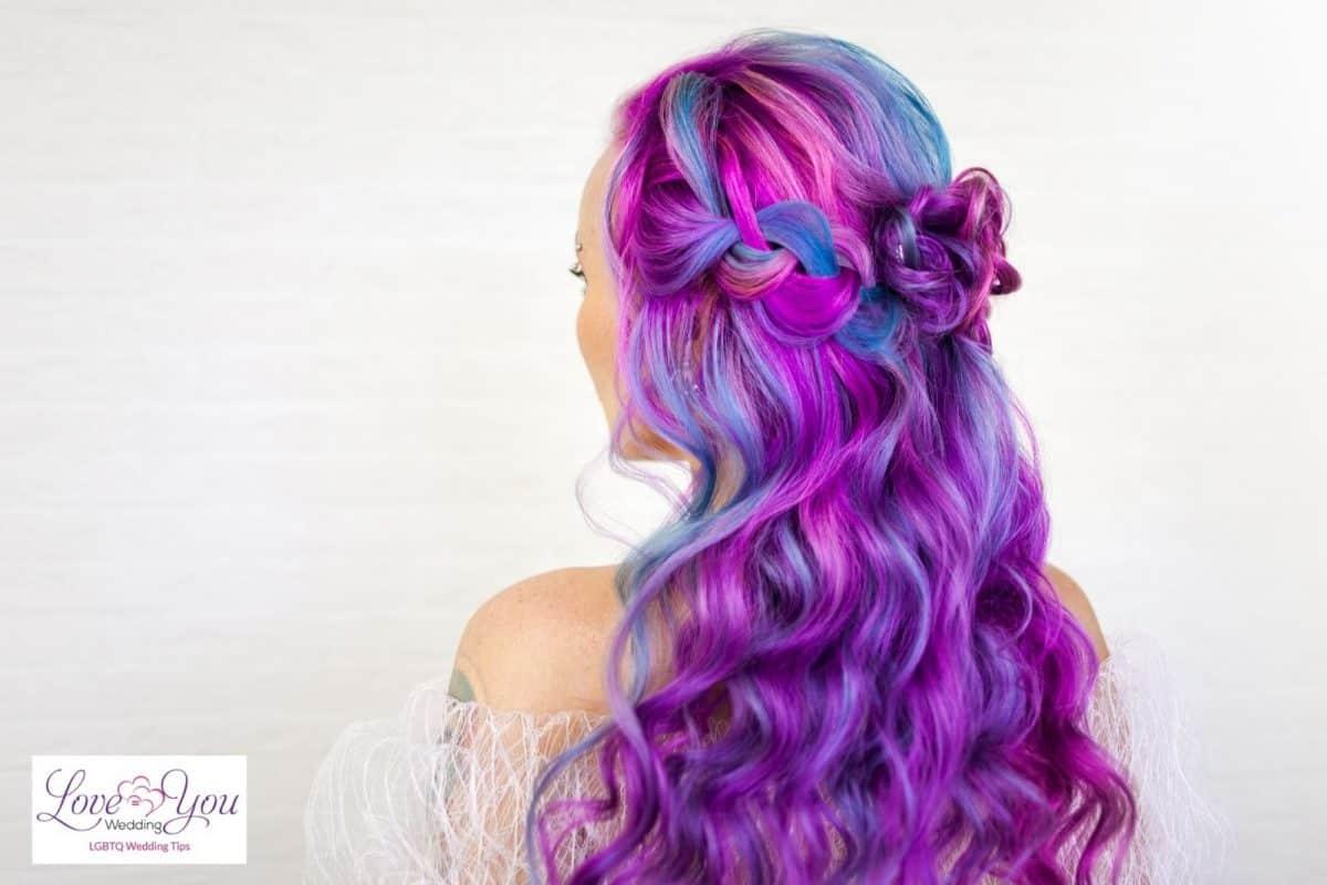 jewel-tone hair color