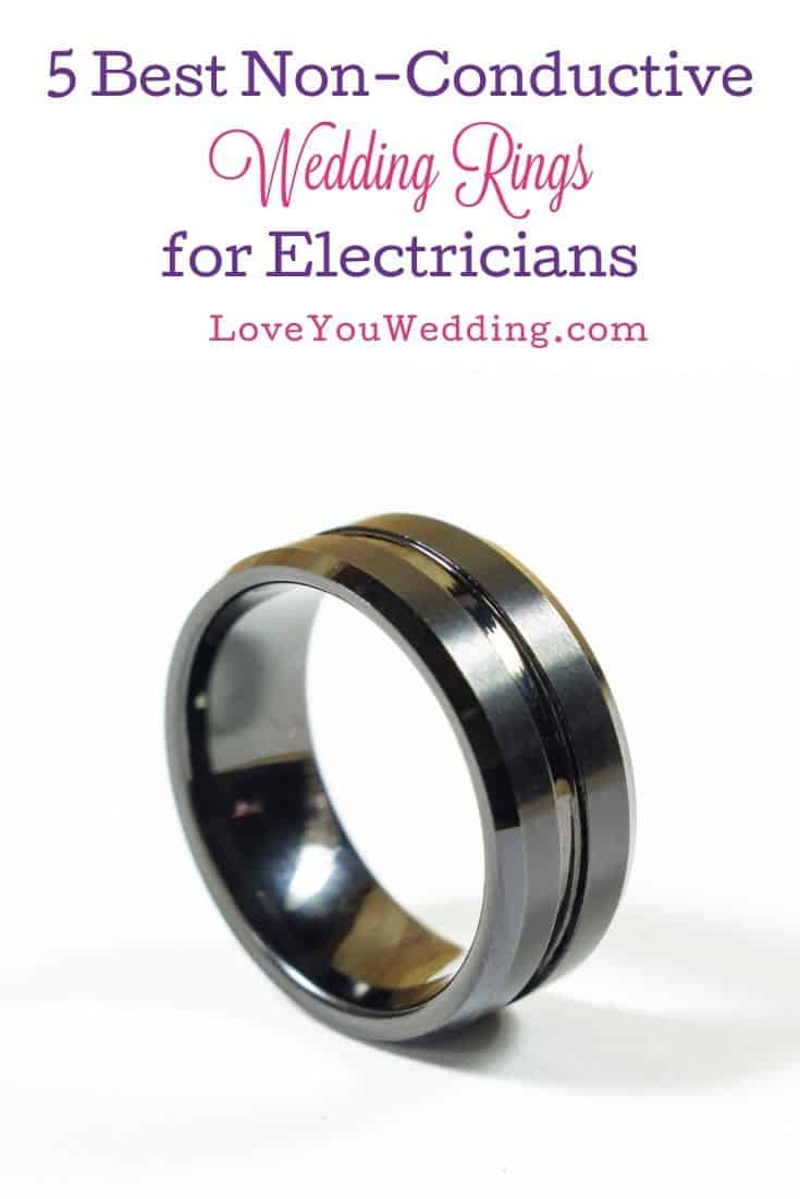 tungsten wedding ring for electrician