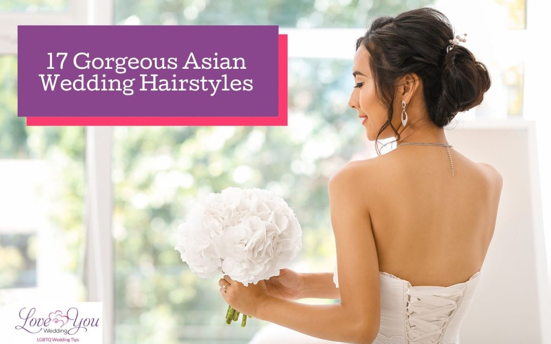 17 Gorgeous Asian Bridal Hairstyle IdeasYou Can Try