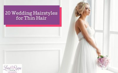20 Amazing Bridal Hairstyles for Thin Hair